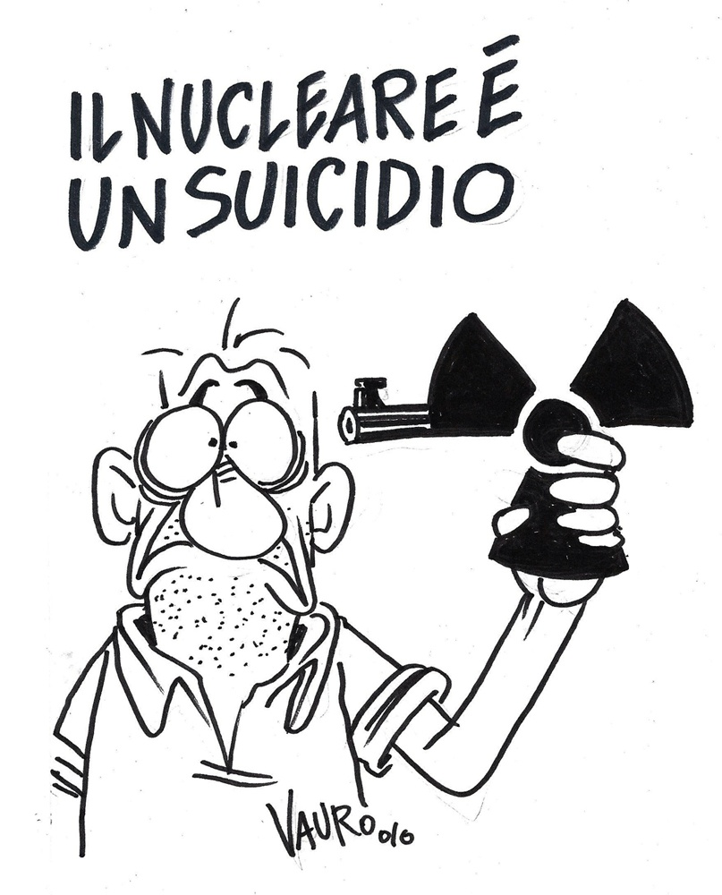 Il nucleare è un suicidio