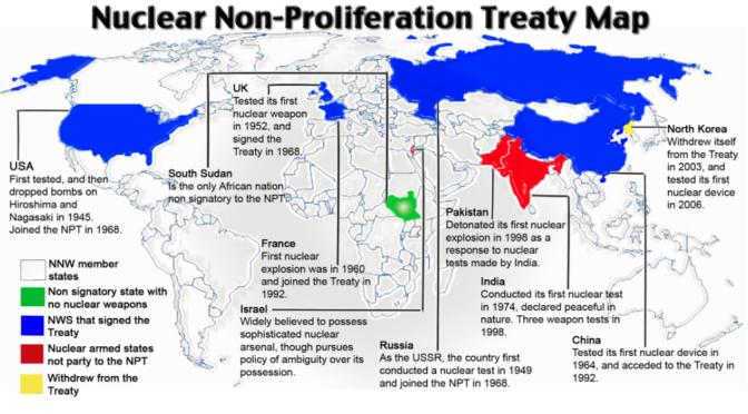 esito della nona Conferenza di riesame del NPT