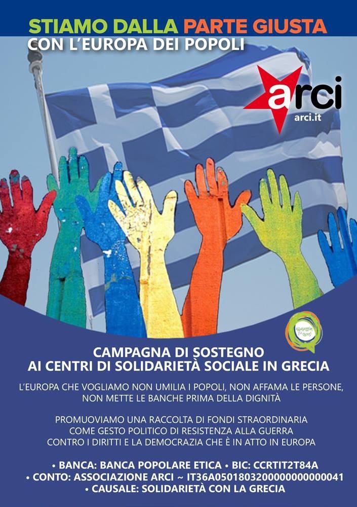 Campagna sostegno Grecia