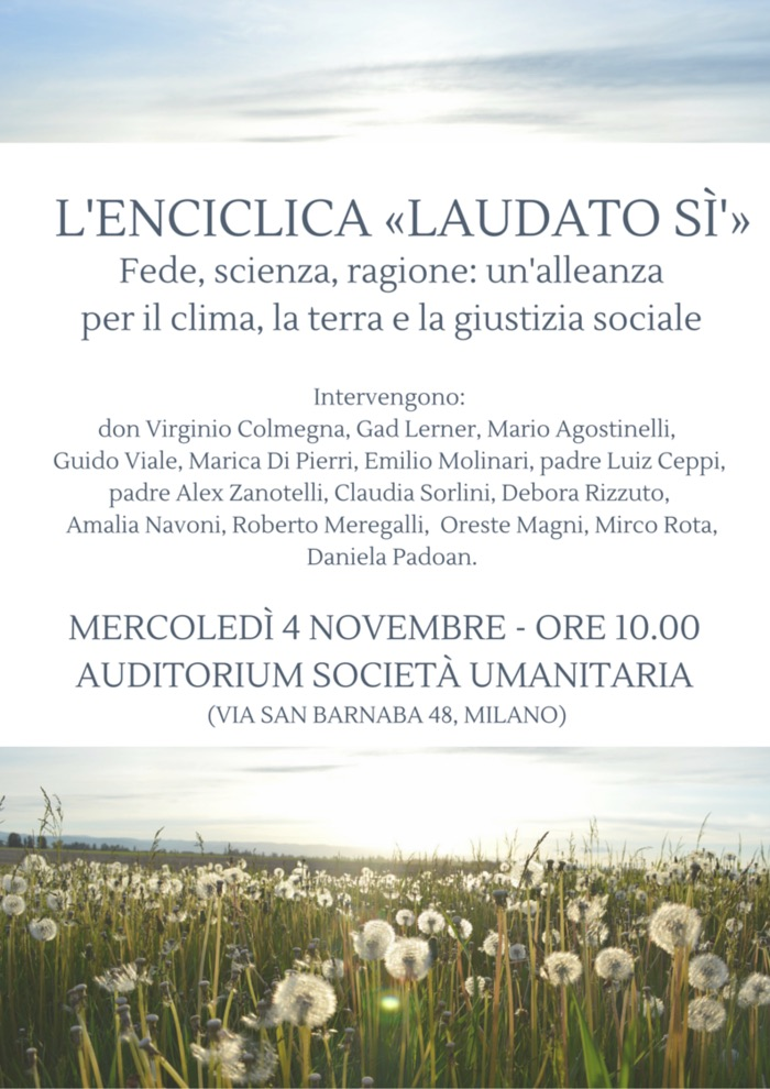 4 novembre - Convegno - locandina