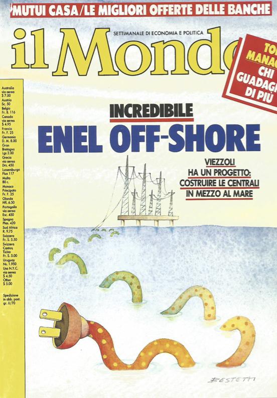 copertina il mondo - centrale off shore