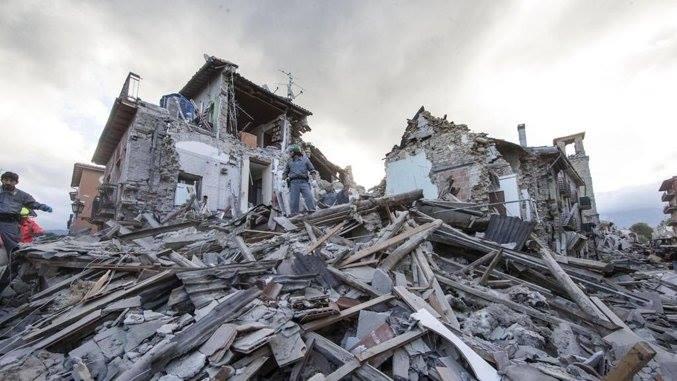 Il nostro aiuto alle popolazioni del Centro Italia colpite dal terremoto