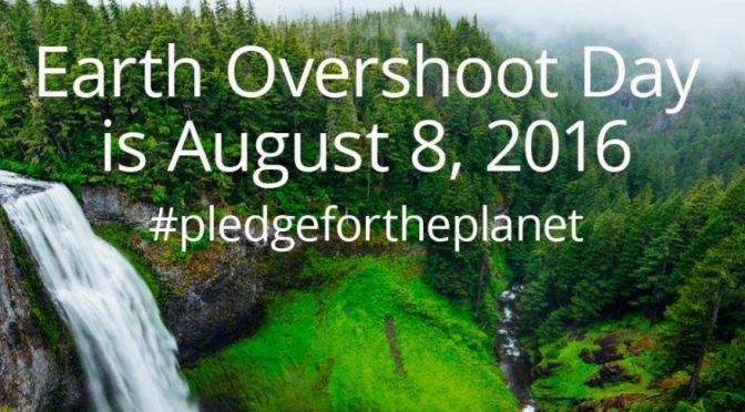 8 agosto: Earth Overshoot Day, il giorno del sovrasfruttamento della Terra