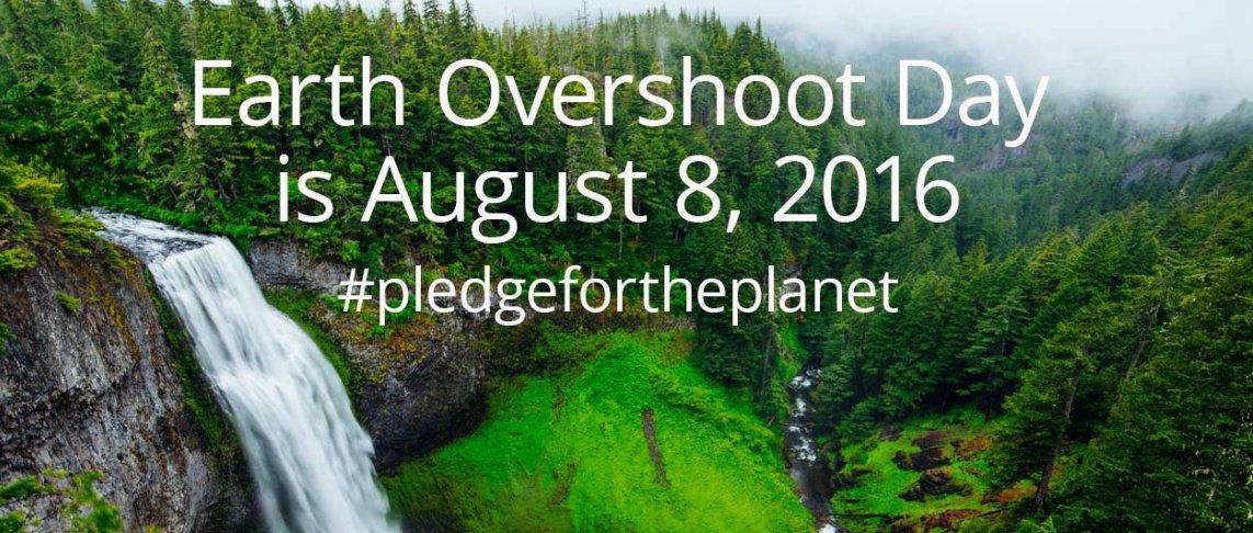 L'8 agosto é il giorno del sovrasfruttamento della Terra (Earth Overshoot Day)
