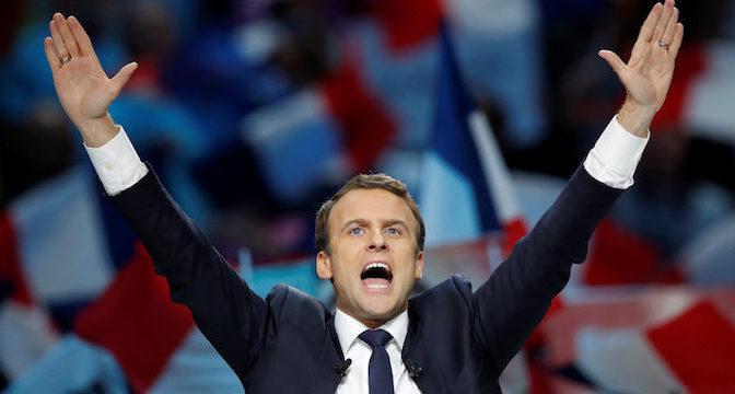 Il presidente Macron e il gatto di Schrödinger