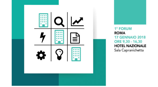 1° Forum REGREENERATION – Roma, 17 gennaio 2018