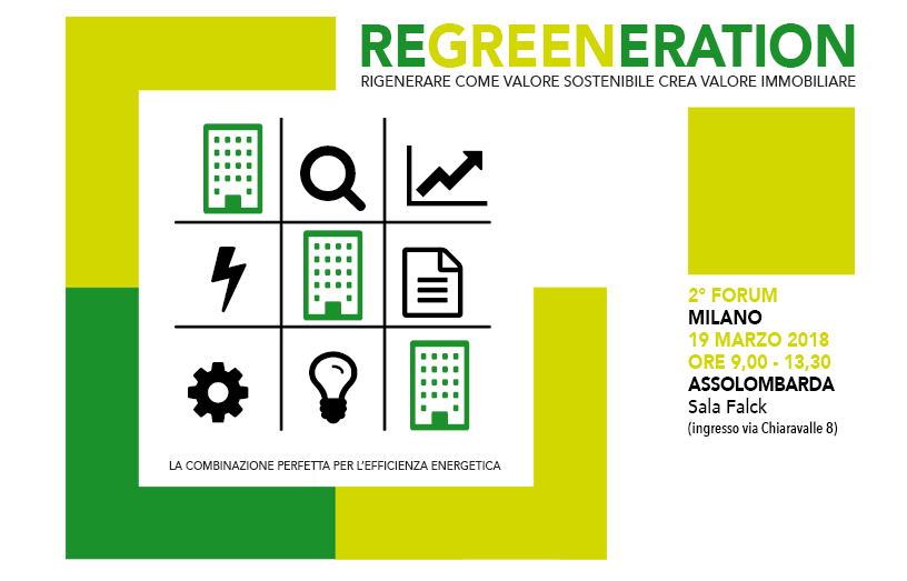 19 marzo a Milano: 2° Forum Regreeneration